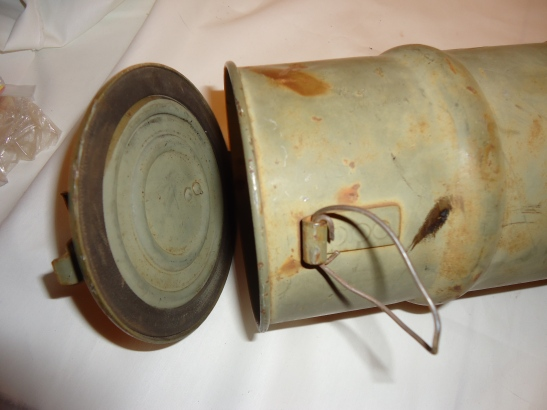 Collectible Militaria Canister