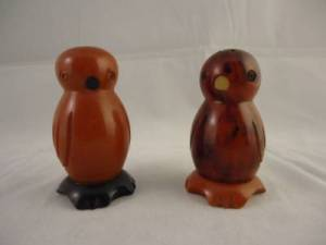 bird salt & pepper shakers