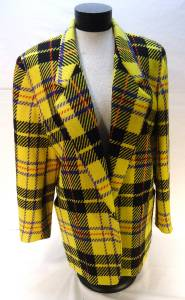 vtg plaid jacket