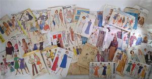 sewing pattern lot
