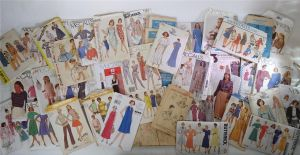 sewing pattern lot