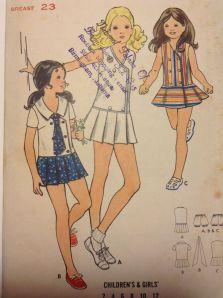 pattern girls dress size 4