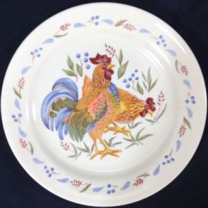 corelle rooster