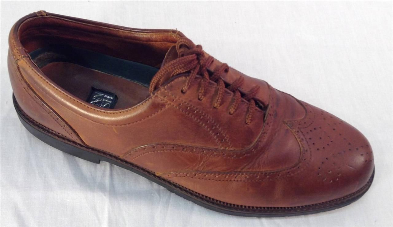 0b9c29f11954b NUNN BUSH WINGTIP MEN S SHOES Size 11 M Oxfords Brown Leather Upper   Lining